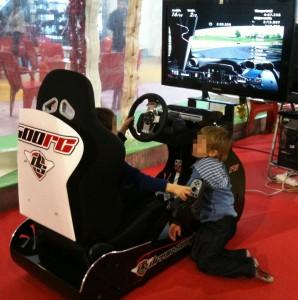 Simulador de conducción DRIVE SEAT 500RC en Pekelandia Winter Park