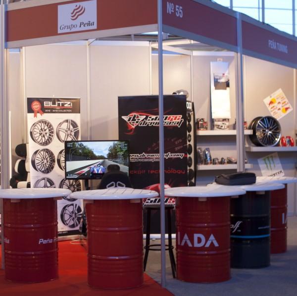 Stand 55  Peña Tunning - Feria Peña Profesional 2013