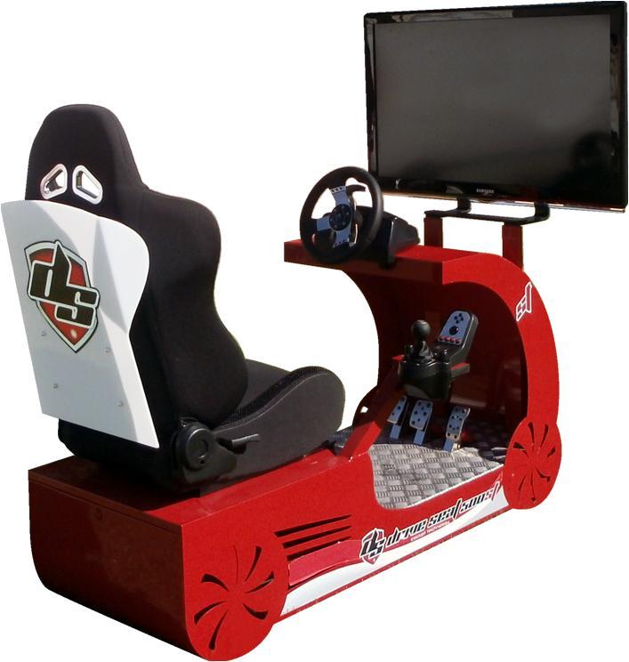 Driving simulator DRIVE SEAT - Simulador de coche DRIVE SEAT