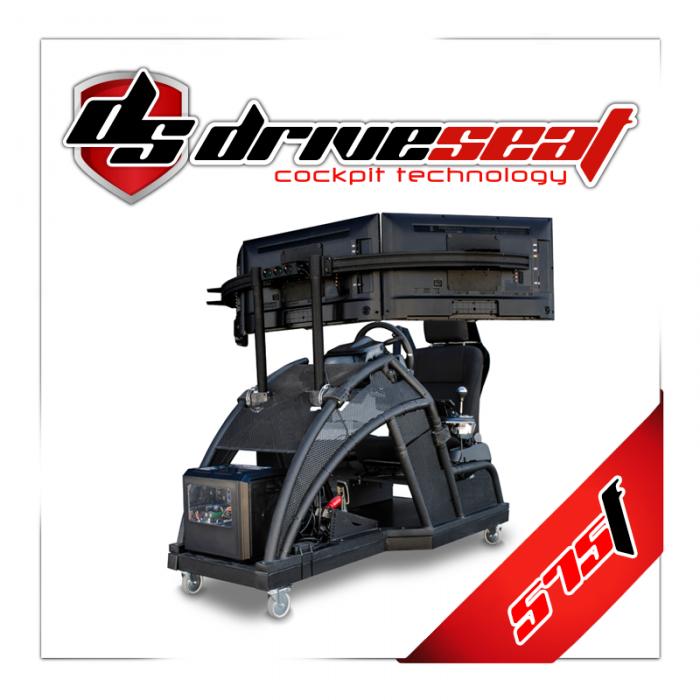 Driving simulator cockpit, Simulador de conducción, simulatore di guida para autoescuolas, simulateur de conduite